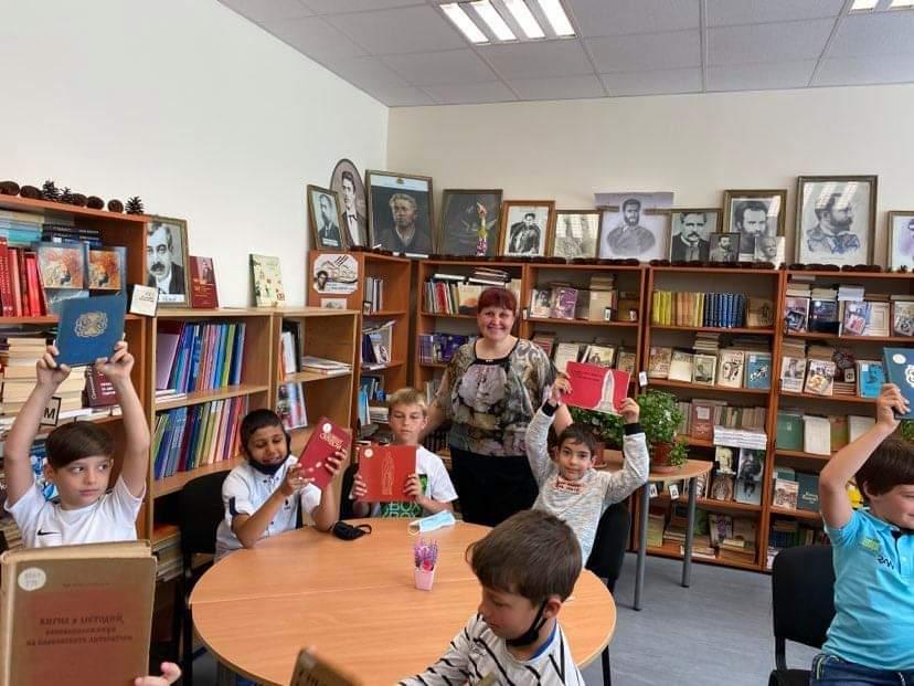 Отбелязване на 24. Май - Деня на славянската писменост и култура с 2. Б клас