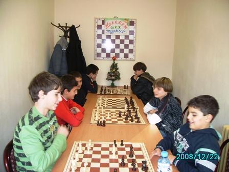 Традиционен Коледен турнир по шахмат в СОУ